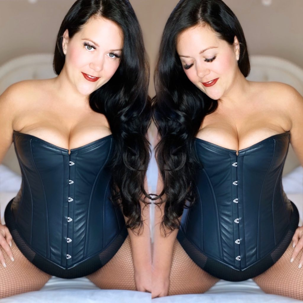 top femdom clips findom videos dominatrix leather corset curvy domme